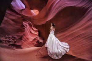EASTERN WEDDING 東方婚禮 | 自助婚紗 | 風格婚紗 | 羚羊峽谷婚紗 | 美西婚紗